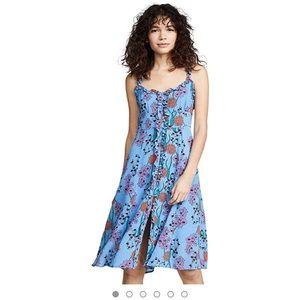 🌟SALE🌟ASTR bluebell floral print dress sz L